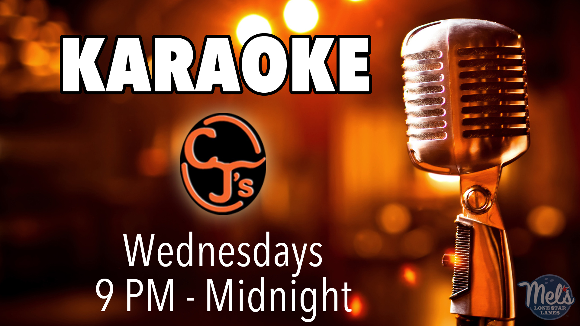 SCO Karaoke Wednesdays