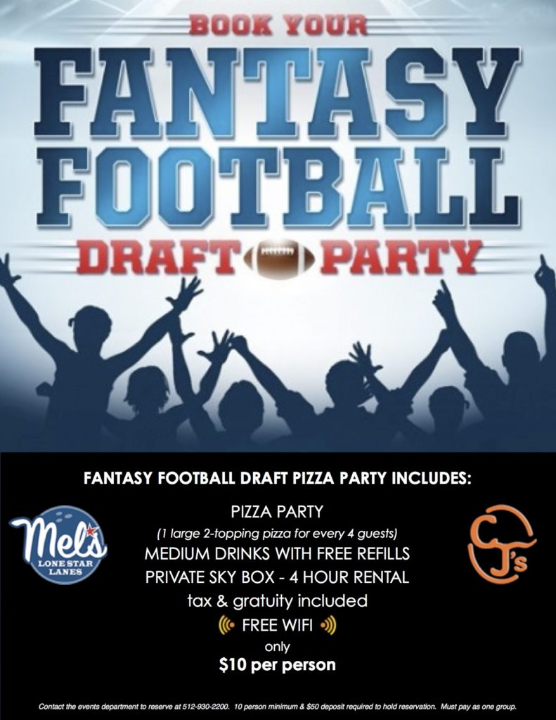 fantasy football party